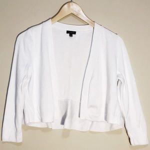 TALBOTS White Dress Shrug